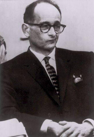 photo of Eichmann in Jerusalem