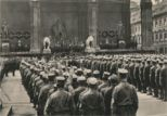 Storm troops at the Feldherrnhalle, mid 1930's