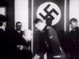 Heydrich accepts hospital train gift from Hacha