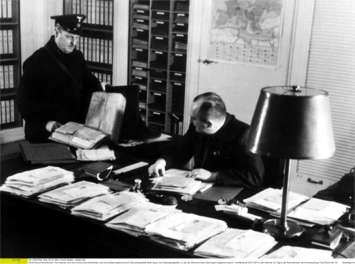 Chancellery mail room